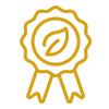 Leaf-Badge